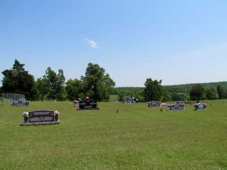 *MITCHELL CEMETERY VIEW,  - Fulton County, Arkansas    *MITCHELL CEMETERY VIEW - Arkansas Gravestone Photos