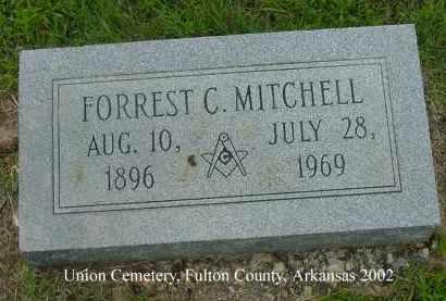 MITCHELL, FORREST C. - Fulton County, Arkansas   FORREST C. MITCHELL - Arkansas Gravestone Photos