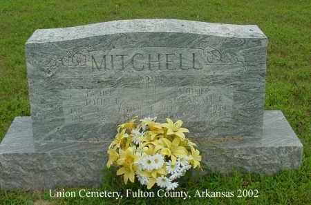 MITCHELL, SUSANAH J. - Fulton County, Arkansas | SUSANAH J. MITCHELL - Arkansas Gravestone Photos