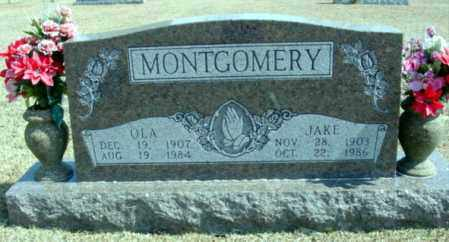 MONTGOMERY, JAKE - Fulton County, Arkansas | JAKE MONTGOMERY - Arkansas Gravestone Photos