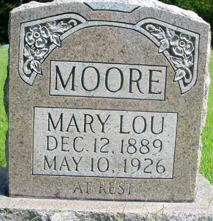 GAITHER MOORE, MARY LOU - Fulton County, Arkansas | MARY LOU GAITHER MOORE - Arkansas Gravestone Photos
