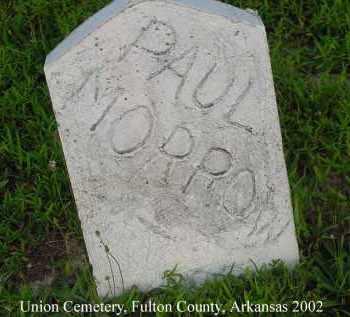 MORROW, PAUL - Fulton County, Arkansas | PAUL MORROW - Arkansas Gravestone Photos