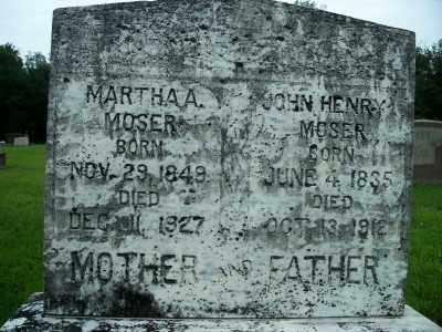 MOSER, JOHN HENRY - Fulton County, Arkansas | JOHN HENRY MOSER - Arkansas Gravestone Photos