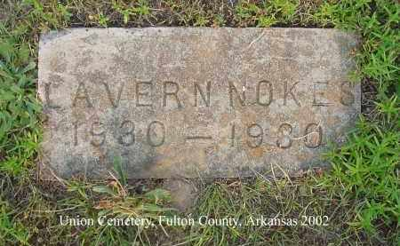 NOKES, LAVERN - Fulton County, Arkansas | LAVERN NOKES - Arkansas Gravestone Photos