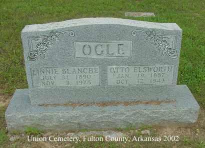 OGLE, LINNIE BLANCHE - Fulton County, Arkansas | LINNIE BLANCHE OGLE - Arkansas Gravestone Photos