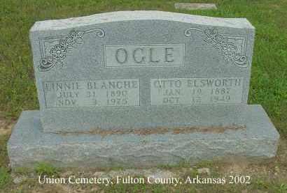 OGLE, OTTO ELSWORTH - Fulton County, Arkansas | OTTO ELSWORTH OGLE - Arkansas Gravestone Photos