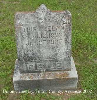 OGLE, THIRL LELAN - Fulton County, Arkansas | THIRL LELAN OGLE - Arkansas Gravestone Photos