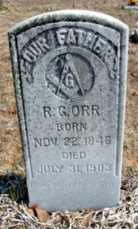 ORR, ROBERT GRANVILLE - Fulton County, Arkansas | ROBERT GRANVILLE ORR - Arkansas Gravestone Photos