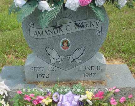 OWENS, AMANDA C. - Fulton County, Arkansas | AMANDA C. OWENS - Arkansas Gravestone Photos