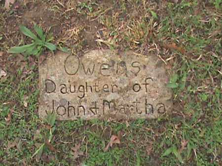 OWENS, DAUGHTER - Fulton County, Arkansas | DAUGHTER OWENS - Arkansas Gravestone Photos