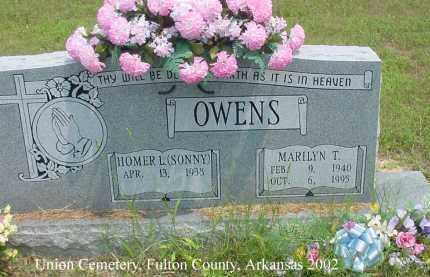 OWENS, MARILYN T. - Fulton County, Arkansas | MARILYN T. OWENS - Arkansas Gravestone Photos