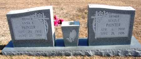 PAINTER, ANNA K. - Fulton County, Arkansas | ANNA K. PAINTER - Arkansas Gravestone Photos