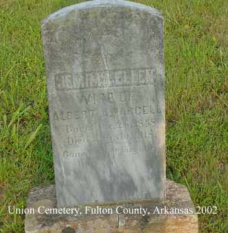 PARCELL, JEMIMA ELLEN - Fulton County, Arkansas | JEMIMA ELLEN PARCELL - Arkansas Gravestone Photos