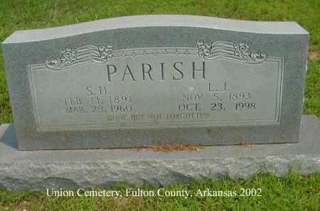 CHADWICK PARHSH, LORA JANE - Fulton County, Arkansas | LORA JANE CHADWICK PARHSH - Arkansas Gravestone Photos