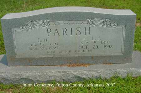 """PARISH, STANFORD HOWELL """"STANT"""" - Fulton County, Arkansas   STANFORD HOWELL """"STANT"""" PARISH - Arkansas Gravestone Photos"""