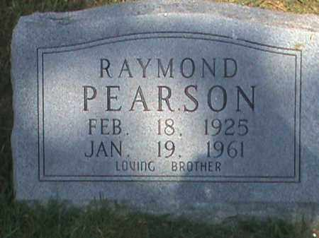 PEARSON, RAYMOND - Fulton County, Arkansas   RAYMOND PEARSON - Arkansas Gravestone Photos