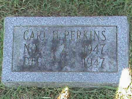 PERKINS, CARL H - Fulton County, Arkansas | CARL H PERKINS - Arkansas Gravestone Photos
