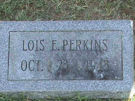PERKINS, LOIS E - Fulton County, Arkansas | LOIS E PERKINS - Arkansas Gravestone Photos