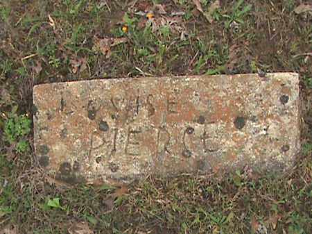 PIERCE, LOUISE - Fulton County, Arkansas | LOUISE PIERCE - Arkansas Gravestone Photos
