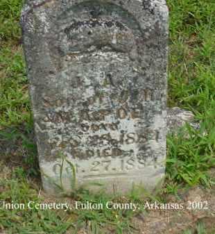 POE, J. A. - Fulton County, Arkansas   J. A. POE - Arkansas Gravestone Photos