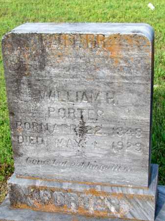 PORTER, WILLIAM H - Fulton County, Arkansas | WILLIAM H PORTER - Arkansas Gravestone Photos