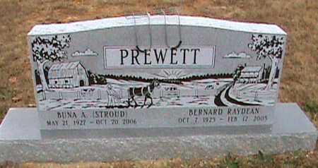 PREWETT, BUNA A. - Fulton County, Arkansas | BUNA A. PREWETT - Arkansas Gravestone Photos
