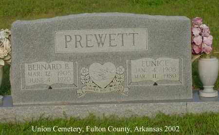 PREWETT, EUNICE - Fulton County, Arkansas | EUNICE PREWETT - Arkansas Gravestone Photos