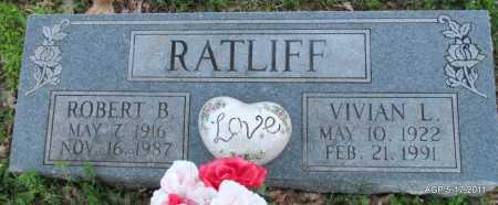 RATLIFF, ROBERT B - Fulton County, Arkansas | ROBERT B RATLIFF - Arkansas Gravestone Photos