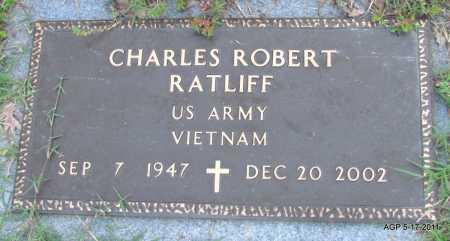 RATLIFF (VETERAN VIET), CHARLES ROBERT - Fulton County, Arkansas   CHARLES ROBERT RATLIFF (VETERAN VIET) - Arkansas Gravestone Photos