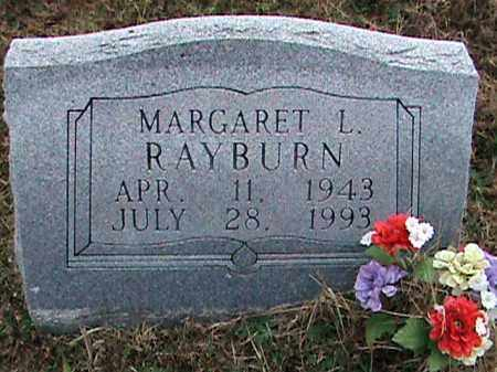 RAYBURN, MARGARET L. - Fulton County, Arkansas   MARGARET L. RAYBURN - Arkansas Gravestone Photos