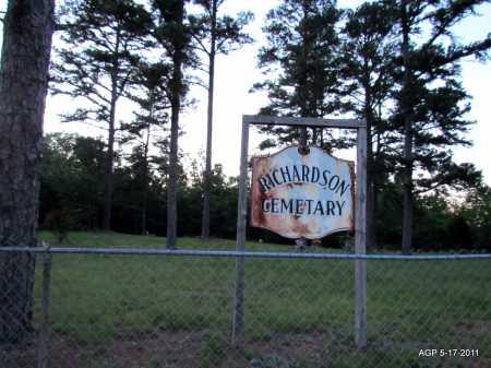 *RICHARDSON CEMETERY VIEW,  - Fulton County, Arkansas    *RICHARDSON CEMETERY VIEW - Arkansas Gravestone Photos