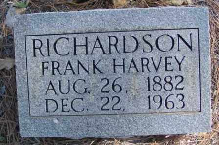 RICHARDSON, FRANK HARVEY - Fulton County, Arkansas | FRANK HARVEY RICHARDSON - Arkansas Gravestone Photos