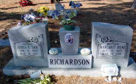 RICHARDSON, MARGARET IRENE - Fulton County, Arkansas | MARGARET IRENE RICHARDSON - Arkansas Gravestone Photos