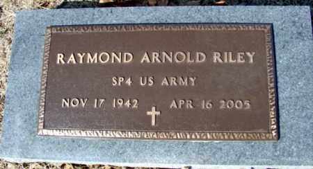 RILEY (VETERAN), RAYMOND ARNOLD - Fulton County, Arkansas | RAYMOND ARNOLD RILEY (VETERAN) - Arkansas Gravestone Photos