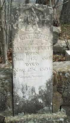 HARRISON ROBERTS, SARAH - Fulton County, Arkansas | SARAH HARRISON ROBERTS - Arkansas Gravestone Photos