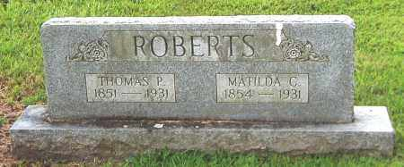 ROBERTS, MATILDA - Fulton County, Arkansas   MATILDA ROBERTS - Arkansas Gravestone Photos