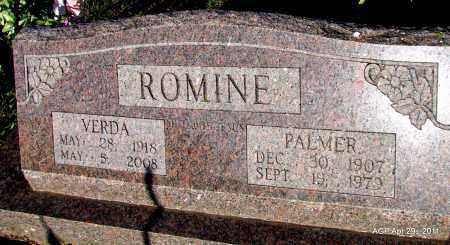 ROMINE, PALMER - Fulton County, Arkansas | PALMER ROMINE - Arkansas Gravestone Photos