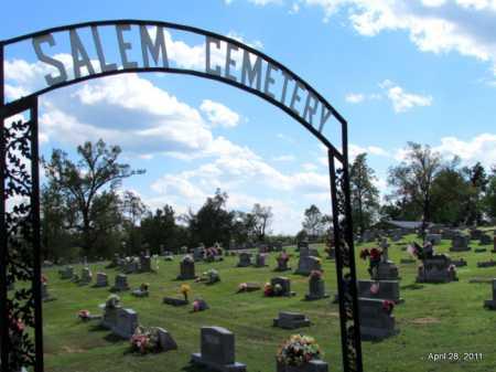 *SALEM CEMETERY VIEW,  - Fulton County, Arkansas    *SALEM CEMETERY VIEW - Arkansas Gravestone Photos