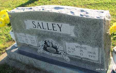 SALLEY, MINNIE - Fulton County, Arkansas | MINNIE SALLEY - Arkansas Gravestone Photos