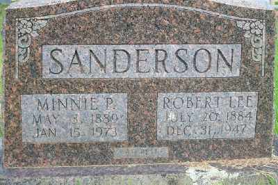 SANDERSON, MINNIE - Fulton County, Arkansas | MINNIE SANDERSON - Arkansas Gravestone Photos