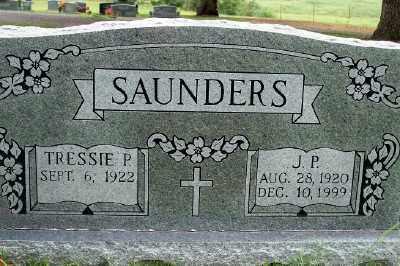 SAUNDERS, J.P. - Fulton County, Arkansas   J.P. SAUNDERS - Arkansas Gravestone Photos