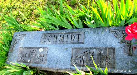 SCHMIDT, ANNA - Fulton County, Arkansas | ANNA SCHMIDT - Arkansas Gravestone Photos