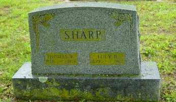 SHARP, LUCY S. - Fulton County, Arkansas | LUCY S. SHARP - Arkansas Gravestone Photos