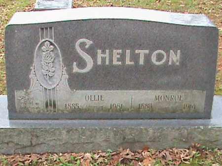 SHELTON, MONROE - Fulton County, Arkansas | MONROE SHELTON - Arkansas Gravestone Photos