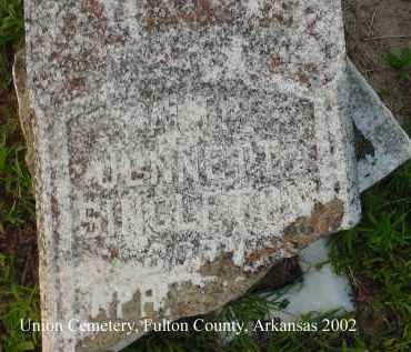 SINGLETON, HATTIE JENNETT - Fulton County, Arkansas | HATTIE JENNETT SINGLETON - Arkansas Gravestone Photos