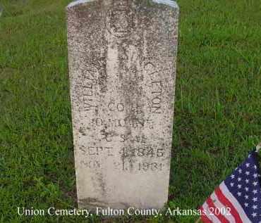 SINGLETON  (VETERAN CSA), WILLIAM C - Fulton County, Arkansas   WILLIAM C SINGLETON  (VETERAN CSA) - Arkansas Gravestone Photos