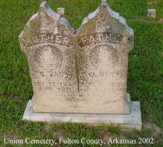 SMITH, D. S. - Fulton County, Arkansas   D. S. SMITH - Arkansas Gravestone Photos