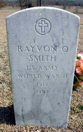 SMITH (VETERAN WWII), RAYVON Q - Fulton County, Arkansas   RAYVON Q SMITH (VETERAN WWII) - Arkansas Gravestone Photos