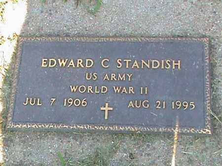 STANDISH  (VETERAN WWII), EDWARD C - Fulton County, Arkansas | EDWARD C STANDISH  (VETERAN WWII) - Arkansas Gravestone Photos