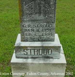 STROUD, GEORGE  RAMSEY - Fulton County, Arkansas | GEORGE  RAMSEY STROUD - Arkansas Gravestone Photos